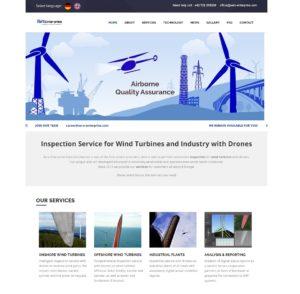 Aero Enterprise - Desktop View