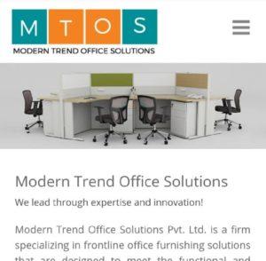 MTOS Mobile Friendly website