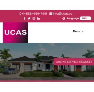 UCAS Mobile view
