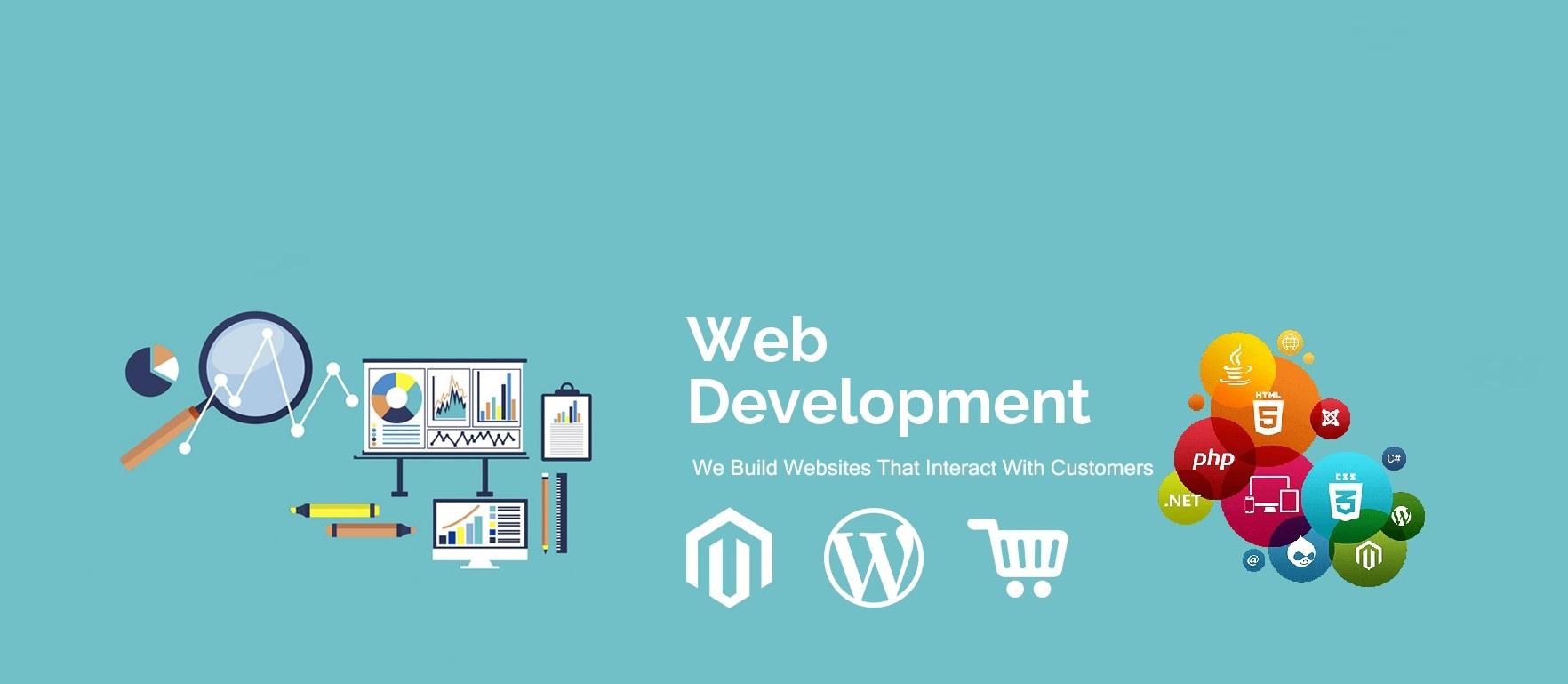 Web-development slider